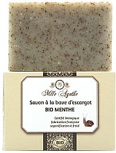 Düfte, Parfümerie und Kosmetik Zertifizierte Bio Minzseife mit Schneckenschleim-Extrakt - Mlle Agathe