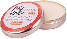 Natürliche Deo-Creme Sweet & Soft - We Love The Planet Deodorant Sweet & Soft — Bild N2