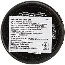 Mattierende Haarpaste - Vitality's For Man Working Paste — Bild N3