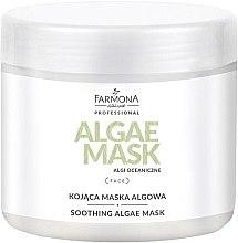 Düfte, Parfümerie und Kosmetik Beruhigende Gesichtsmaske mit Algen - Farmona Professional Dermacos Soothing Algae Mask
