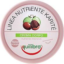 Düfte, Parfümerie und Kosmetik Körpercreme mit Sheabutter - Equilibra Karite Line