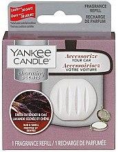 Düfte, Parfümerie und Kosmetik Duftstein für Autoduftanhänger - Yankee Candle Dried Lavender & Oak Charming Scents (Refill)