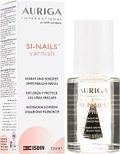 Düfte, Parfümerie und Kosmetik Pflege für brüchige Nägel - Auriga Si-Nails Varnish