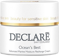 Düfte, Parfümerie und Kosmetik Feuchtigkeitsspendende Gesichtscreme mit Meeres-Mineralien, Algen- und Seetang-Extrakten - Declare Ocean's Best Advanced Marine Moisture Recharge Cream