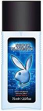 Düfte, Parfümerie und Kosmetik Playboy Super Playboy For Him - Parfümiertes Körperspray