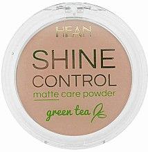Düfte, Parfümerie und Kosmetik Mattierender Puder mit grünem Tee - Hean Shine Control Matte Care Powder