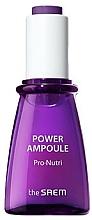 Düfte, Parfümerie und Kosmetik Nährende und feuchtigkeitsspendende Gesichtsampulle - The Saem Power Ampoule Pro-nutri