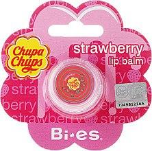 "Düfte, Parfümerie und Kosmetik Lippenbalsam ""Erdbeere"" - Bi-es Chupa Chups Strawberry Lip Balm"