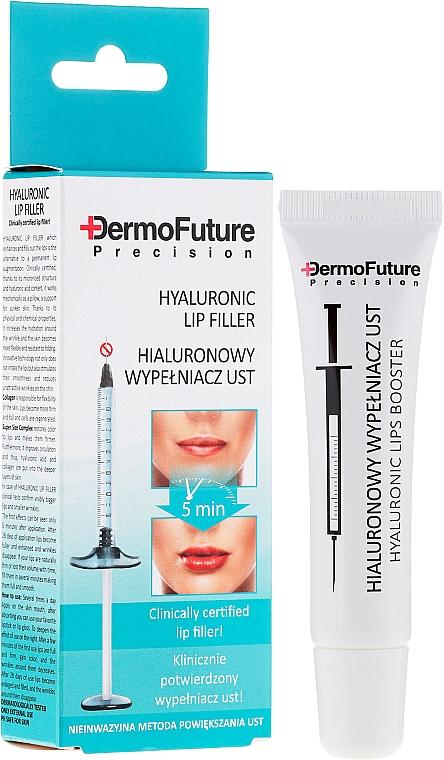 Lippenserum mit Hyaluronsäure und Kollagen - DermoFuture Precision Hyaluronic Lip