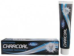 Düfte, Parfümerie und Kosmetik Zahnpasta mit Aktivkohle und Fluorid - Beauty Formulas Charcoal Activated Fluoride Toothpaste