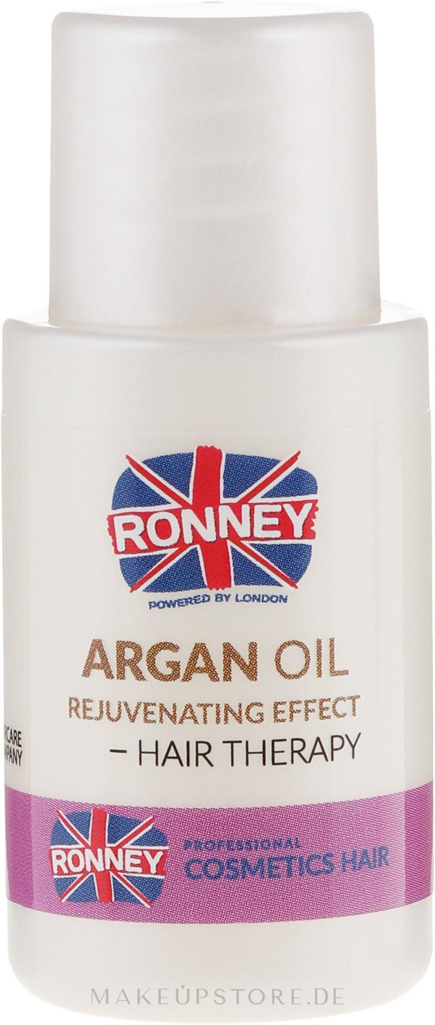 Arganöl für coloriertes Haar mit verjüngender Wirkung - Ronney Argan Oil Rejuvenating Hair Therapy — Bild 15 ml