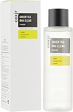 Düfte, Parfümerie und Kosmetik Exfolierendes und feuchtigkeitsspendendes Gesichtstonikum mit Beta-Hydroxy-Säuren, Grüntee-Extrakt und Schneckenschleim - Coxir Green Tea BHA BHA Clear Toner