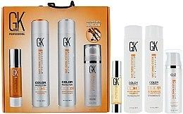 Düfte, Parfümerie und Kosmetik Haarpflegeset - GKhair Kit (Shampoo 300ml + Conditioner 300ml + Haaröl 50ml + Haarcreme 130ml)