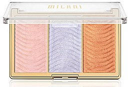 Düfte, Parfümerie und Kosmetik Highlighter-Palette - Milani Stellar Lights Highlighter Palatte