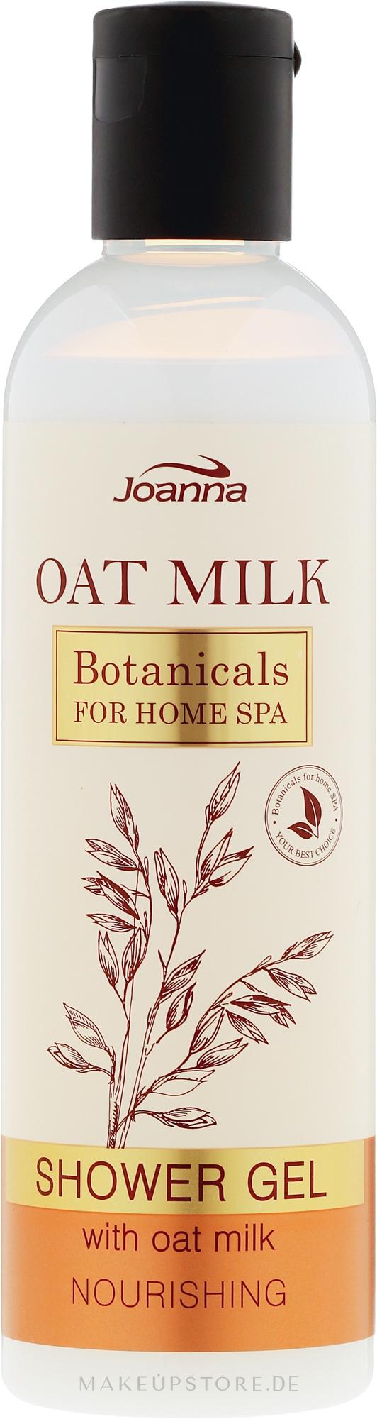 Pflegendes Duschgel mit Hafermilch - Joanna Botanicals Oat Milk Shower Gel — Bild 240 ml