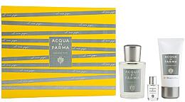 Düfte, Parfümerie und Kosmetik Acqua Di Parma Colonia Pura - Duftset (Eau de Cologne 100ml + Duschgel 50ml + Eau de Cologne Mini 5ml)