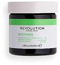 Düfte, Parfümerie und Kosmetik Beruhigende Nachtmaske mit Hanf - Revolution Skincare Smoothing Night Facial Mask
