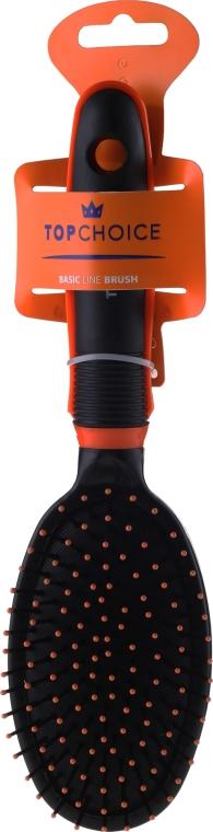 Haarbürste schwarz-orange 2465 - Top Choice — Bild N1