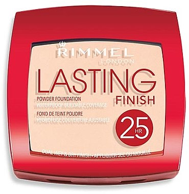 Langanhaltende Puderfoundation - Rimmel Lasting Finish 25h Powder Foundation — Bild N1