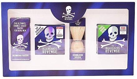 Set - The Bluebeards Revenge (balm/100ml+cr/100ml+shaving brush+shaver) — Bild N1