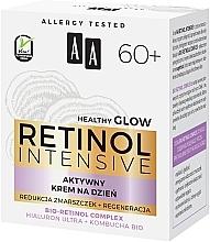 Aktiv glättende und feuchtigkeitsspendende Anti-Falten Tagescreme mit Bio Retinolkomplex für reife Gesichtshaut 60+ - AA Retinol Intensive 60+ Cream — Bild N4