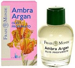 Düfte, Parfümerie und Kosmetik Parfümiertes Öl mit Amber und Argan - Frais Monde Ambra Argan Perfume Oil