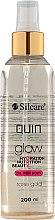 Düfte, Parfümerie und Kosmetik Körperöl - Silcare Quin Glow Dry Oil for Body Rose Gold