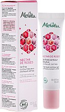 Düfte, Parfümerie und Kosmetik Erfrischendes Augenkonturgel gegen Schwellungen und Augenringe - Melvita Nectar De Rose Fresh Eye-Countour Gel