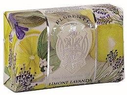 Düfte, Parfümerie und Kosmetik Naturseife Lemon Lavender - La Florentina Lemon Lavender Luxury Soap