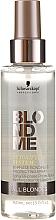 Düfte, Parfümerie und Kosmetik Zwei-Phasen Schützender Haarspray - Schwarzkopf Professional BlondMe Bi-Phase Bonding & Protection Spray