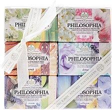 Düfte, Parfümerie und Kosmetik Naturseifen-Geschenkset Philosophia - Nesti Dante Gift Set Natural Soaps Philosophia Collection (6x150g)