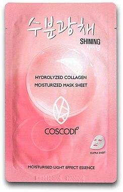 Feuchtigkeitsspendende Tuchmaske - Coscodi Hydrolyzed Collagen Moisturized Mask Sheet — Bild N1