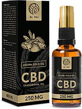 Düfte, Parfümerie und Kosmetik Natürliches Jojobaöl CBD 250mg - Dr. T&J Bio Oil