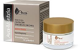 Düfte, Parfümerie und Kosmetik Reichhaltige Anti-Falten Gesichtsemulsion - Ava Laboratorium Ava Mustela Emulsion