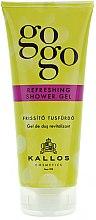 Düfte, Parfümerie und Kosmetik Erfrischendes Duschgel - Kallos Cosmetics Gogo Refreshing Shower Gel