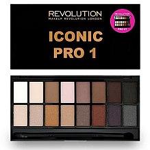 Düfte, Parfümerie und Kosmetik Lidschattenpalette - Makeup Revolution Salvation Eyeshadow Palette Iconic Pro 2