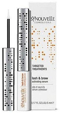 Hochkonzentriertes Wirkstoff-Serum für Wimpern und Augenbrauen - Synouvelle Cosmectics Targeted Treatments Lash & Brow Activating Serum — Bild N1