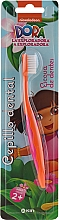 Düfte, Parfümerie und Kosmetik Kinderzahnbürste 2+ Jahre Dora orange - Kin Kid's Dora The Explorer Toothbrush