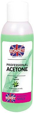 Nagellackentferner mit Aloe-Duft - Ronney Professional Acetone Aloe — Bild N1
