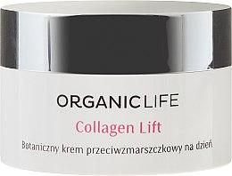 Vegane Anti-Falten Tagescreme - Organic Life Dermocosmetics Collagen Lift — Bild N2