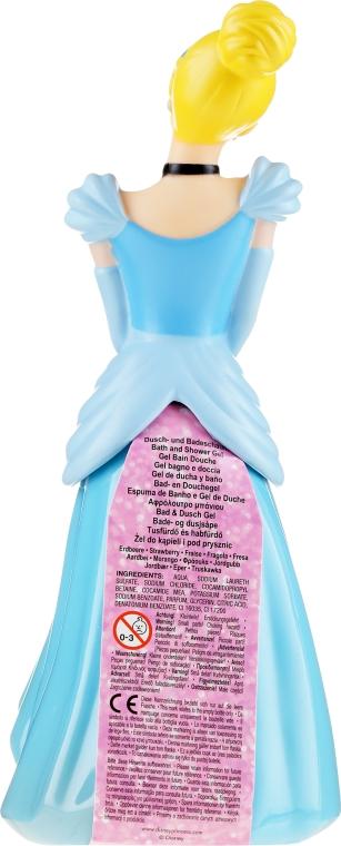 Schäumendes Duschgel für Kinder Prinzessin Cinderella - Disney Princess Cinderella 3D — Bild N2