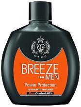 Düfte, Parfümerie und Kosmetik Deodorant - Breeze Men Power Protection Deo Control 48H