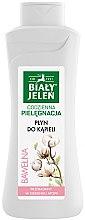 Düfte, Parfümerie und Kosmetik Hypoallergener Badeschaum mit Baumwolle - Bialy Jelen Hypoallergenic Bath Lotion Cotton