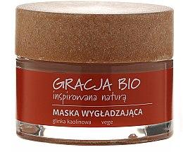 Glättende Gesichtsmaske mit Kaolin - Gracja Bio Smoothing Mask — Bild N3