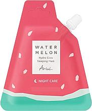 Düfte, Parfümerie und Kosmetik Feuchtigkeitsspendende Nachtmaske für das Gesicht mit Wassermelone - Ariul Watermelon Hydro Glow Sleeping Mask (Doypack)