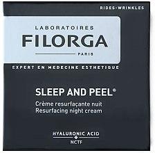 Düfte, Parfümerie und Kosmetik Regenerierende Nachtcreme mit Hyaluronsäure - Filorga sleep and peel
