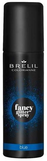 Farbspray mit Glitzer für das Haar - Brelil Professional Colorianne Fancy Glitter Spray — Bild Blue