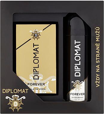 Astrid Diplomat Forever - Duftset (Eau de Toilette 100ml + Deospray 150ml) — Bild N1