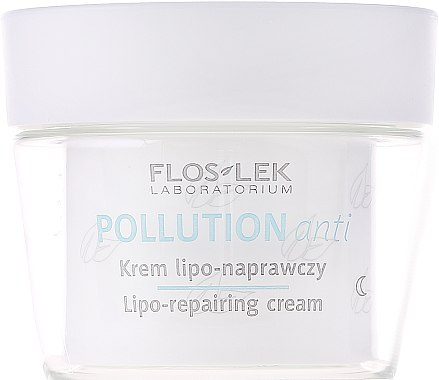 Nachtcreme zur Wiederherstellung der Lipidschicht - Floslek Pollution Anti Lipo–repairing Cream — Bild N2