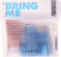 Düfte, Parfümerie und Kosmetik Gesichtspflegeset - Laneige Hydrating Trial Kit Bring Me (Fesichtsschaum 30ml + Gesichtstonikum 50ml + Gesichtsserum 10ml + Gesichtscreme 10ml + Gesichtsmaske 15ml)